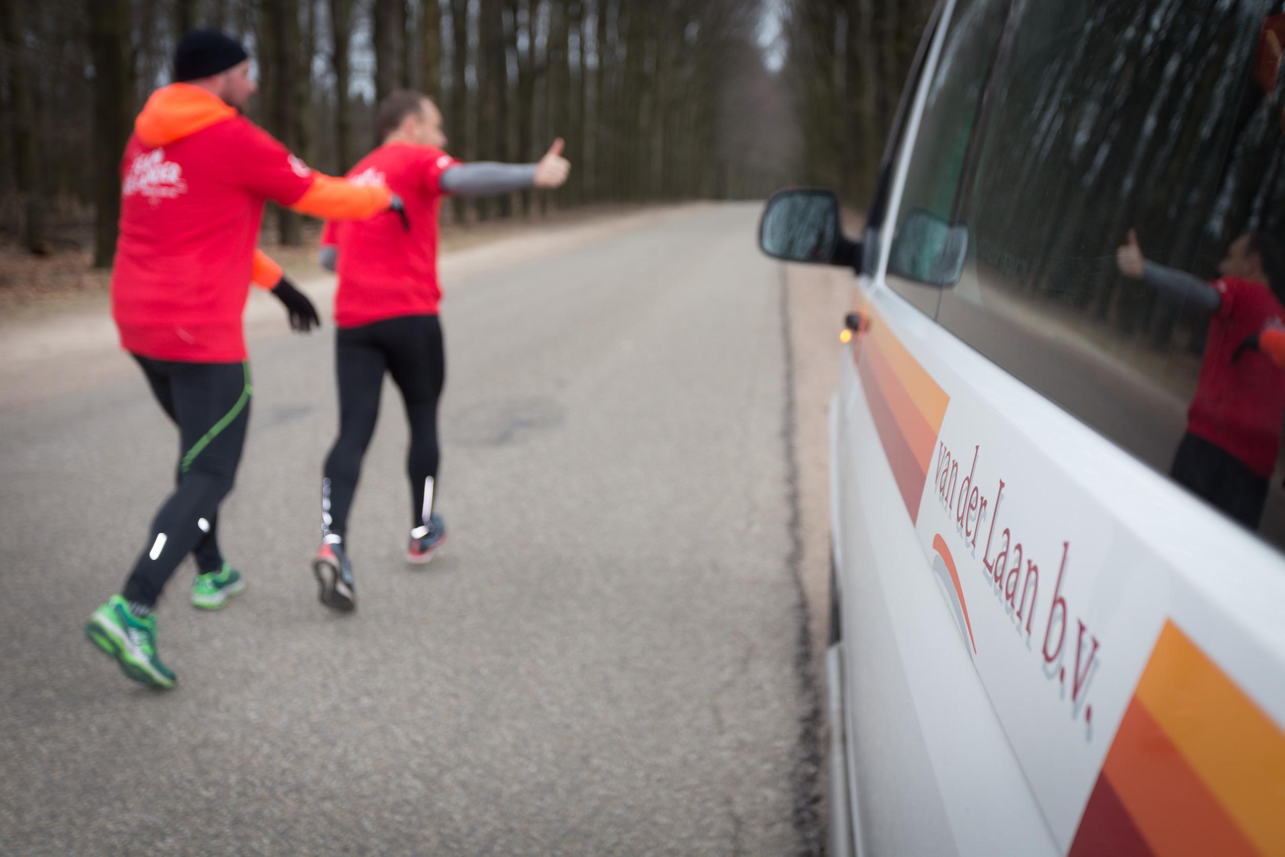 Trainingsweekend Team Hollander – Roparun